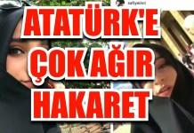 Safiye Ince Ataturk Hakaret