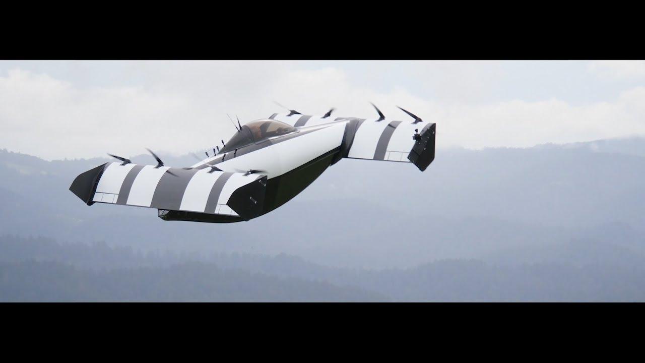 California'da Pilot ehliyetine gerek duyulmayan uçan araba tanıtıldı