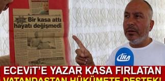 Ecevite Yazar Kasa Atan Esnaf Ahmet Cakmak