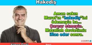 Hakedis - Yilmaz Ozdil