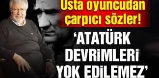 Metin Akpınar'dan çarpıcı Atatürk konuşması!