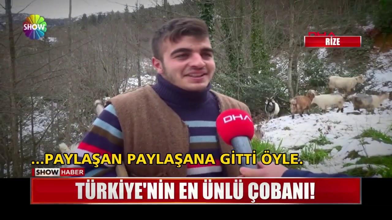 Türkiye'nin en ünlü çobanı!