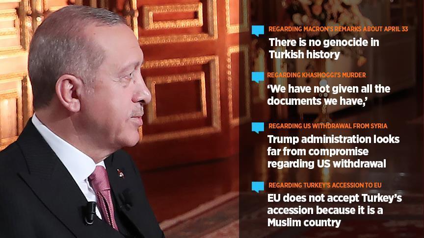 US not united on Syria withdrawal: Erdogan