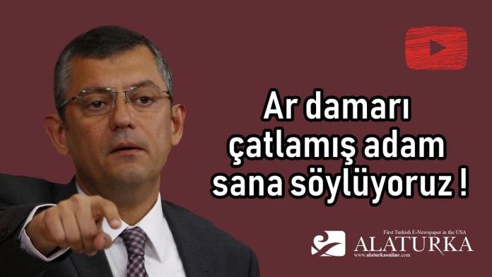 Ozgur Ozel - Ardamari catlamis adam sana soyluyoruz