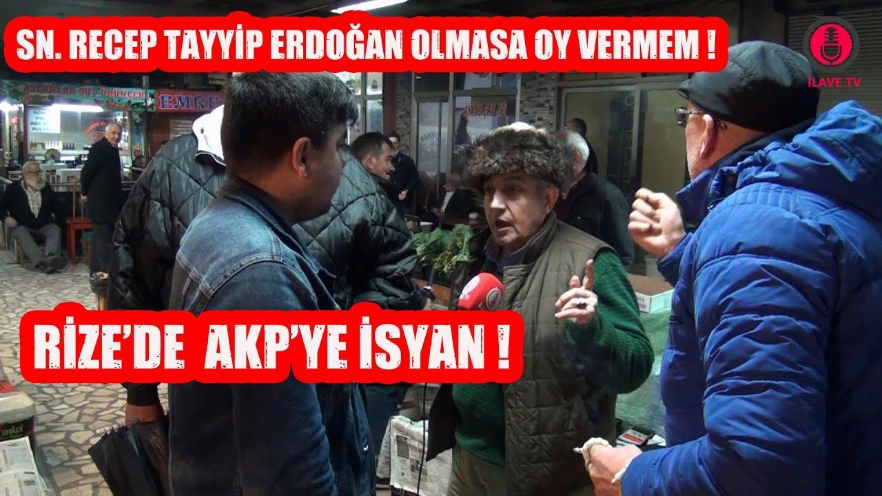 Rize'de AKP'ye İsyan ! Rize Yerel Seçim Anketi