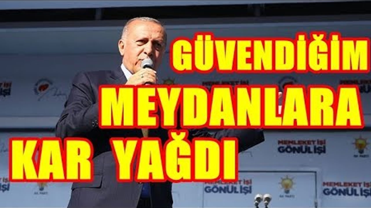 Erdoğan anketlere değil meydanlara güveniyordu. Peki Meydan Sonuçları Ne?