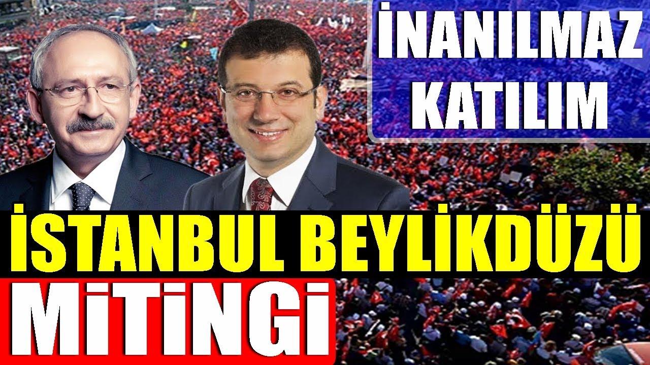Kemal Kılıçdaroğlu – Ekrem İmamoğlu İstanbul Beylikdüzü Mitingi -27 Mart 2019