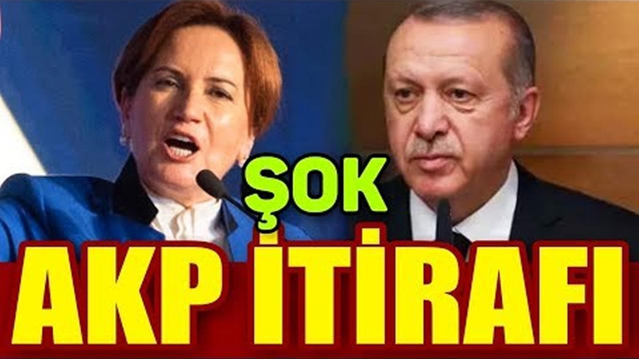 Meral Akşener'den AKP İtirafı!