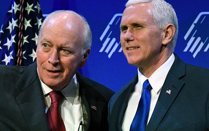 Cheney-Pence atışması: 'Şahinler şahini' çıkardığı savaşları devam ettirmeyen Trump'a çattı