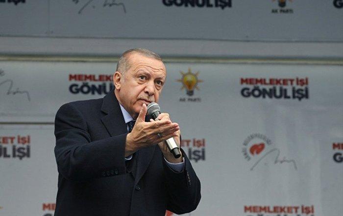 Erdoğan'dan ABD'nin Golan Tepesi açıklamasına tepki: Bölgeyi yeni bir krizin eşiğine getirdi