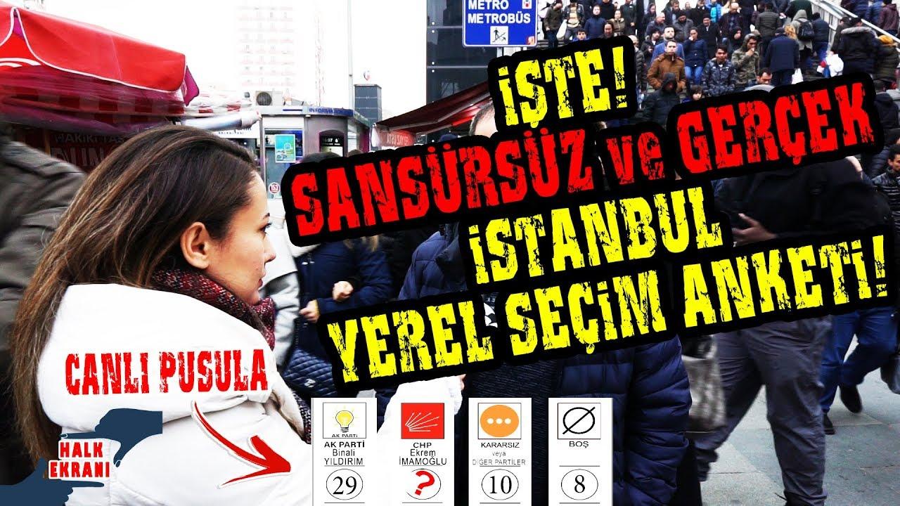 Ekrem İmamoğlu Sansüre Rağmen Farkı Açıyor! İşte Gerçek İstanbul Yerel Seçim Anketi