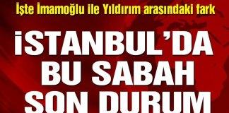 Istanbul Son Durum