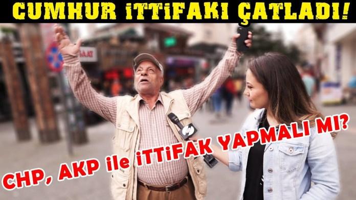 Türkiye İttifakı Hakkında Ne Düşünüyorsunuz? CHP, AKP ile İttifak Yapmalı Mı?