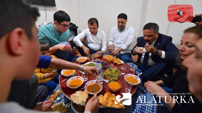 Ekrem Imamoglu Cebrail Iftar Acti