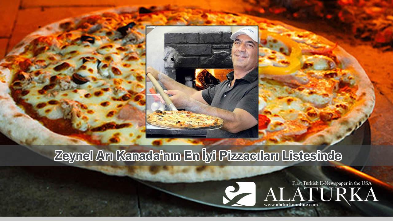 Zeynel Arı Kanada'nın En İyi Pizzacıları Listesinde