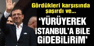 Ekrem Imamoglu Yuyuyerek Istanbula Gidebilirim