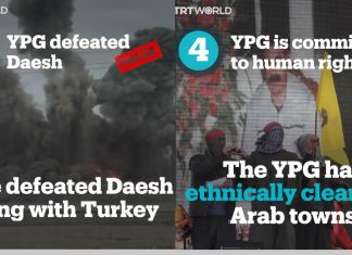 Four myths about the PKK/YPG terrorist group debunked