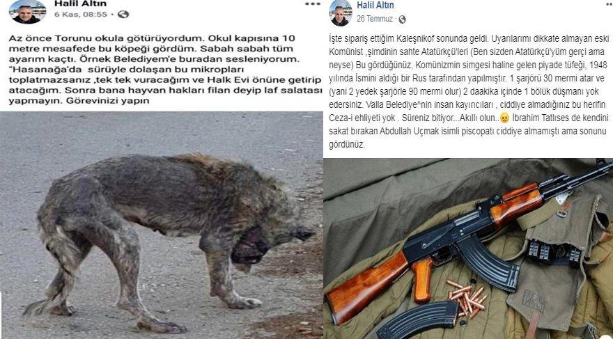 Sokak hayvanlarını tehdit eden şahıs için belediye harekete geçti!