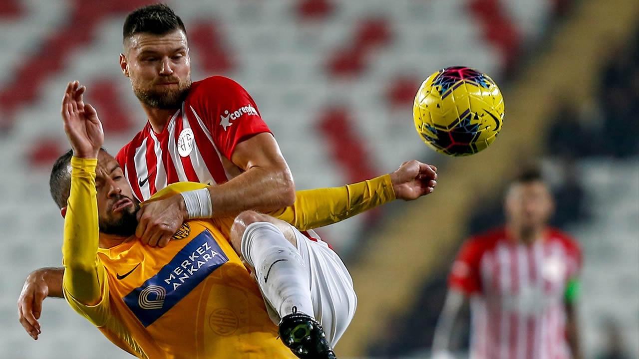 Antalyaspor 2 – Ankaragücü 2 Maç Özeti İzle