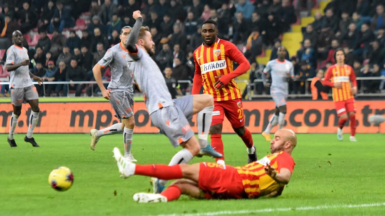 Kayserispor 1 – Başakşehir 4 Maç Özeti İzle