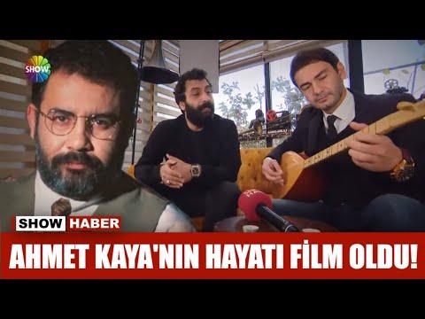 Ahmet Kaya'nın hayatı film oldu