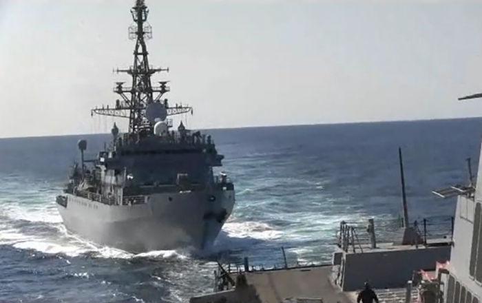 ABD'nin 'Rus gemisi, gemimize tehlikeli mesafede yaklaştı' iddiasına Rusya'dan yanıt