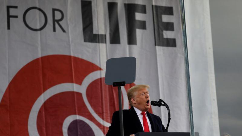 Trump'tan Kürtaj Karşıtlarına 'En Güçlü' Destek