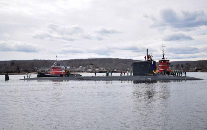 Forbes: ABD'nin en yeni denizaltısının çıktığı ilk seferde kaplaması döküldü