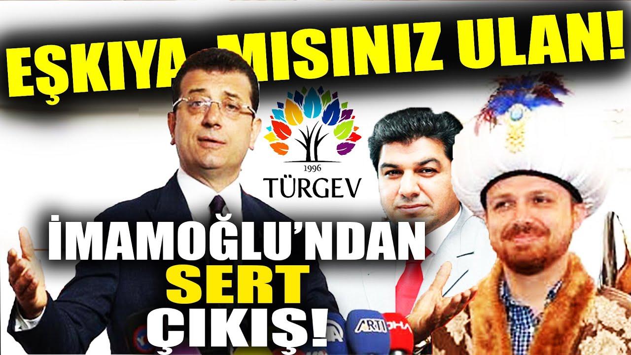 İmamoğlu, İBB'den Mal Kaçıran AKPlilere Sert Çıktı! Eşkıya Mısınız?