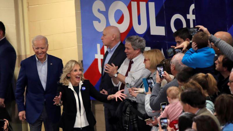 Joe Biden'ın New Hampshire Mitingini Eşi Jill Biden 'Korudu'