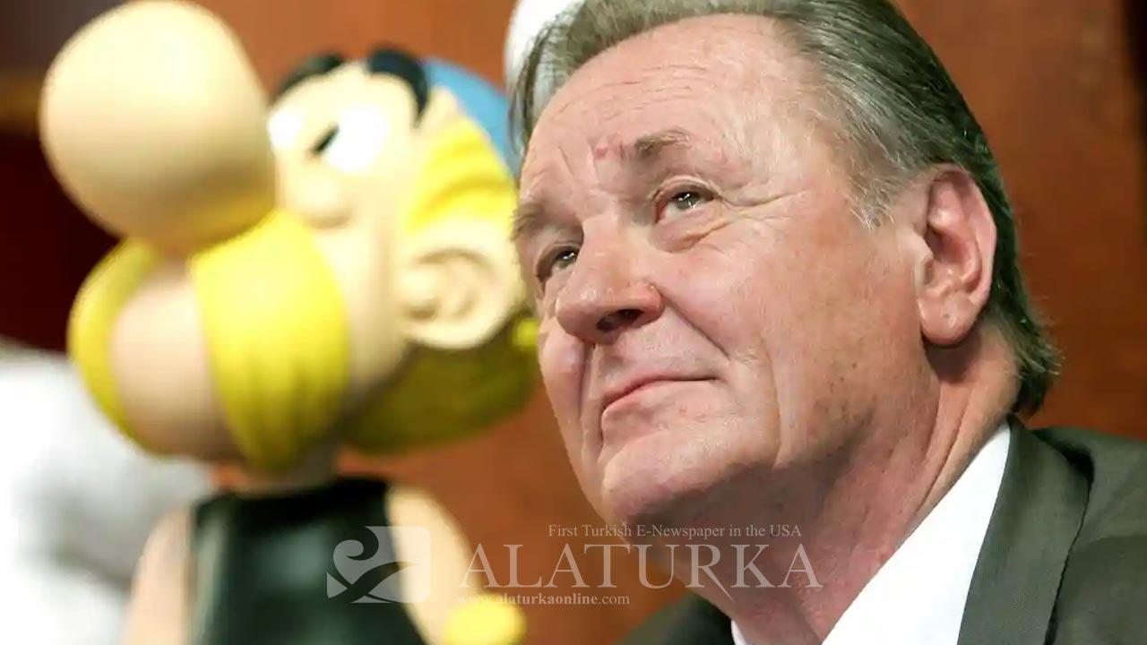 Asterix ve Obelix çizgi karakterlerinin yaratıcısı Albert Uderzo 92 yaşında öldü