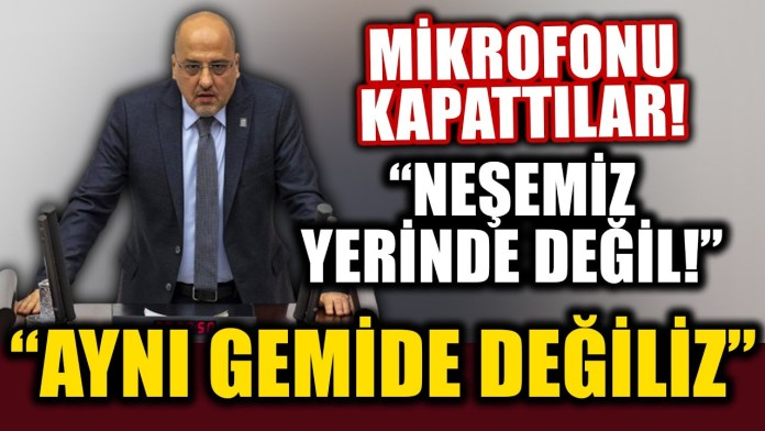 Ahmet Şık'ın Meclis'teki Konuşması AKP'lileri Kızdırdı: Mikrofonun Sesini Kapattılar!