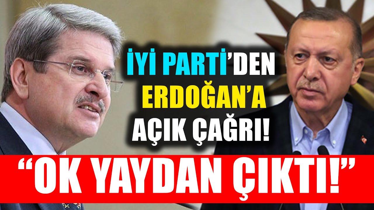 İYİ Partili Aytun Çıray'dan Erdoğan'a Açık Çağrı: Ok Yaydan Çıktı!
