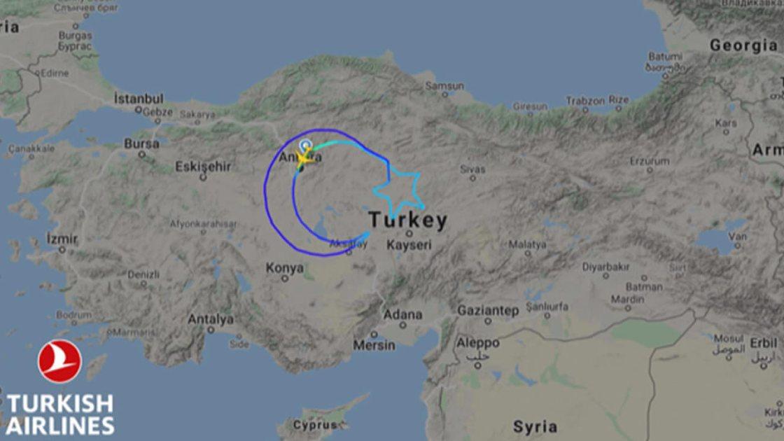 Türk Hava Yollarından Anlamlı Uçuş