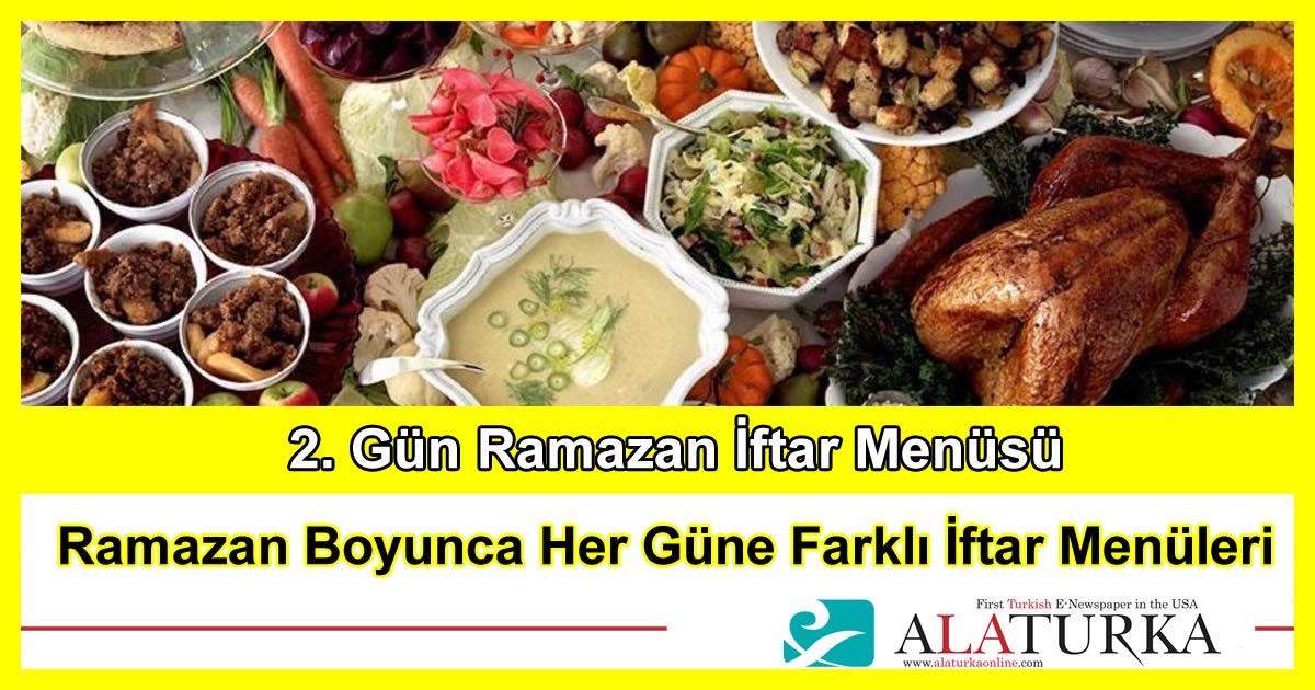 2. Gün Ramazan İftar Menüsü