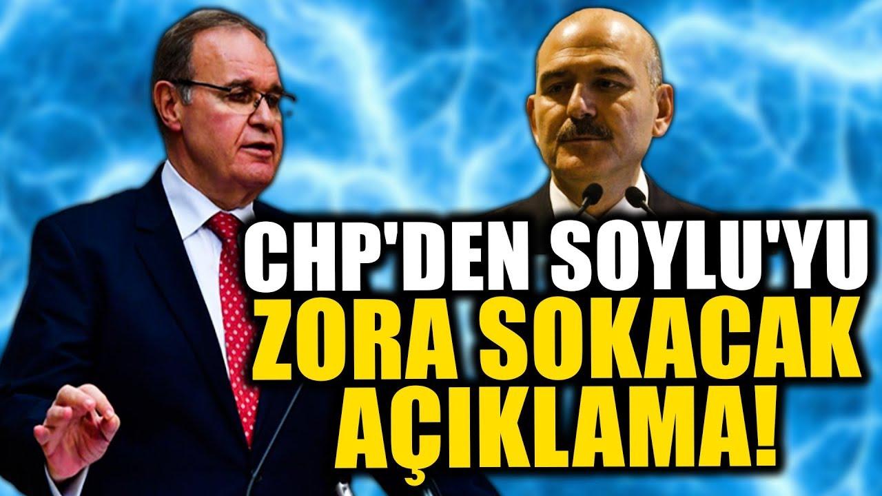 CHP Sözcüsü Faik Öztrak'tan Süleyman Soylu'yu Zora Sokacak Açıklama!