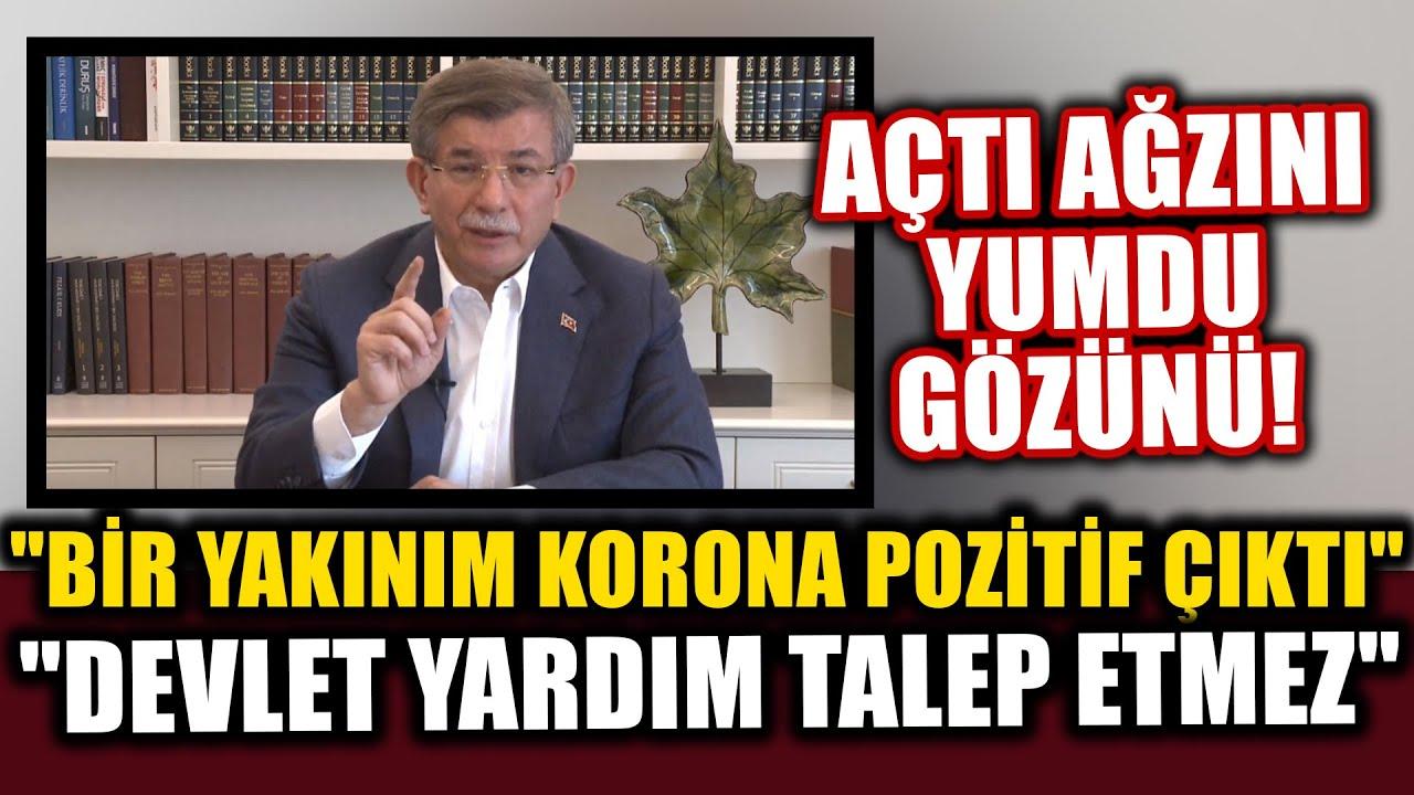 Davutoğlu'ndan AKP'ye Çok Sert Sözler: Devlet Yardım Talep Etmez!