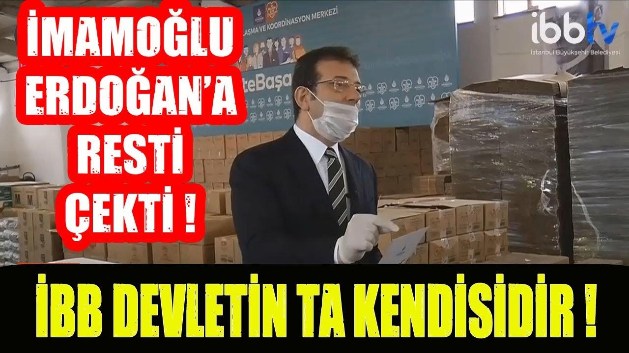 İmamoğlu Erdoğan'a Resti Çekti ! İBB Devletin Ta Kendisidir !