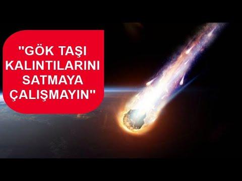 Türkiye'de görüntülenen gök taşlarının sırrı…