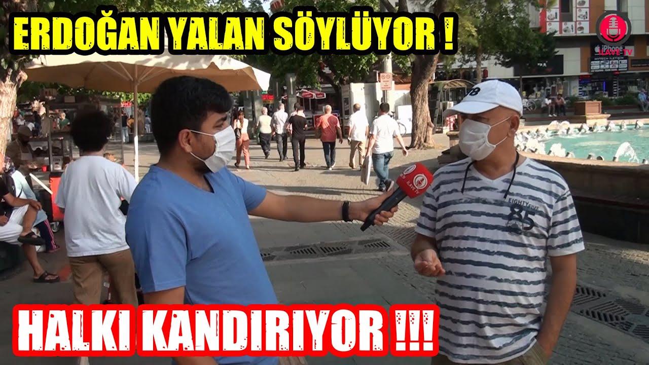 Vatandaş Artık Erdoğan'a ve AKP Hükümetine İnanmıyor