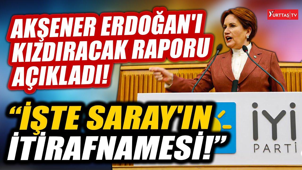 """Meral Akşener """"Gelin Erdoğan'ı biraz kızdıralım"""" dedi.. 'Sarayın itirafnamesi'ni tek tek anlattı!"""