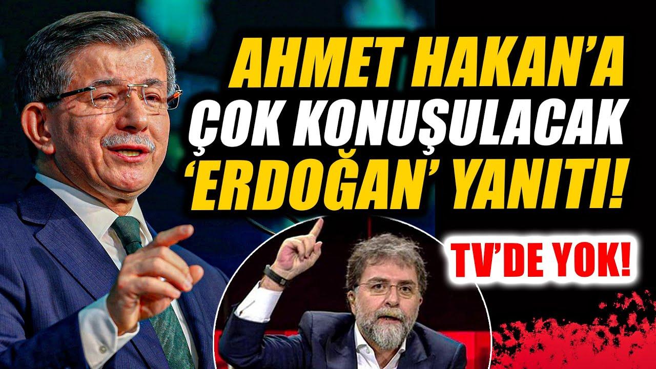 Davutoğlu'ndan Ahmet Hakan'a çok konuşulacak 'Erdoğan' yanıtı: Rüzgar gülü…