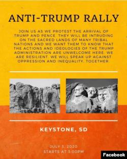 Amerikan Yerlilerinden Trump'ın Rushmore Ziyaretine Tepki