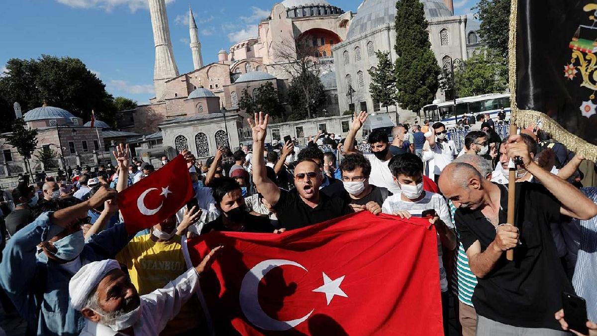 Joe Biden'dan Ayasofya tepkisi: Erdoğan kararından geri dönmeli