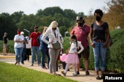 ABD'de Dört Eyalette Erken Oy Verme İşlemi Başladı