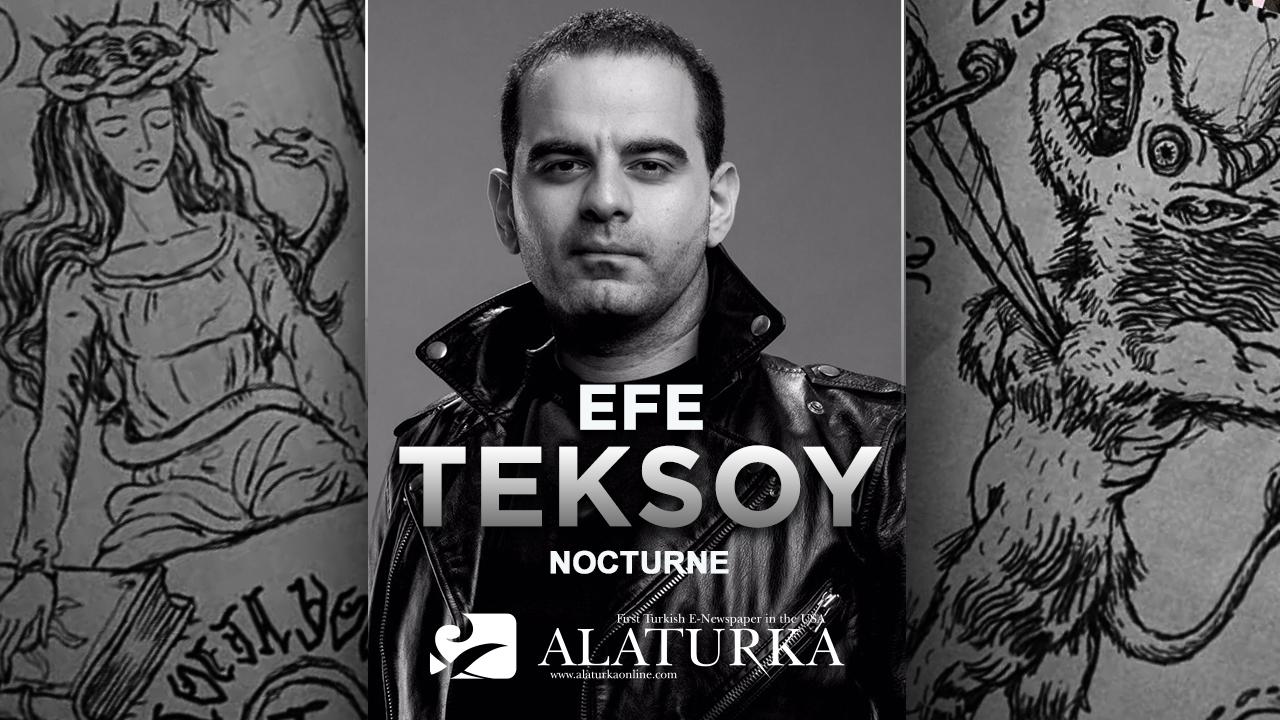 """Efe Teksoy, şeytana satılan ruh """"Nocturne"""" filmini yazdı"""