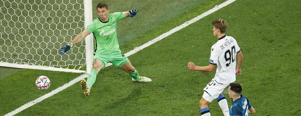 MAÇ SONUCU | Zenit 1-2 Club Brugge