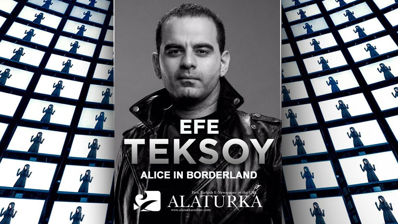 """Sinema Yazarı/Film Eleştirmeni Efe Teksoy """"Alice in Borderland""""i yazdı.."""
