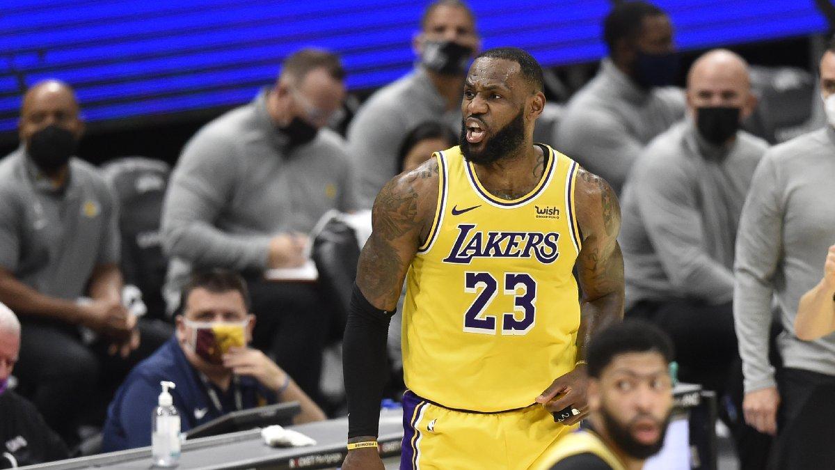 LeBron James'ten Cleveland Cavaliers'a 46 sayı