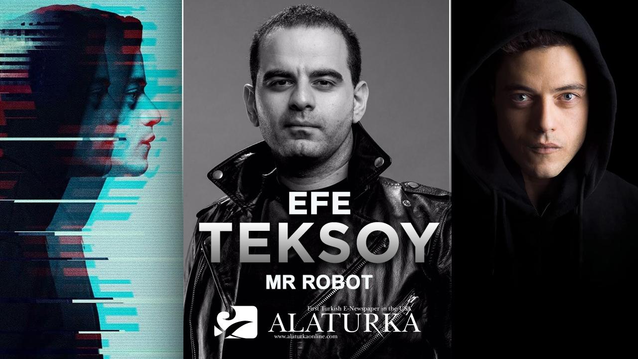 """Sinema Yazarı/Film Eleştirmeni Efe Teksoy, Altın Küre ödüllü antikahraman dizisi """"Mr Robot""""u yazdı."""